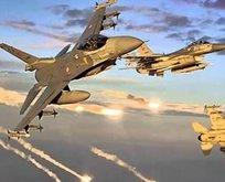Türk jetleri Kandile bomba yağdırdı
