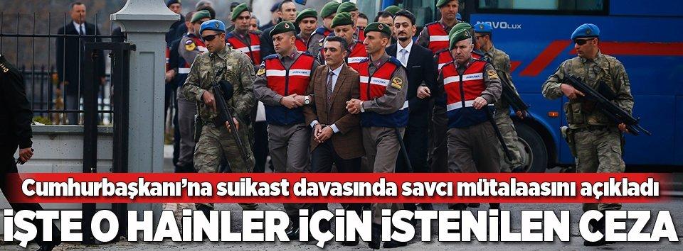 Erdoğana suikast girişimi davasında kritik gelişme!