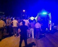 Polis noktasına kalleş saldırı