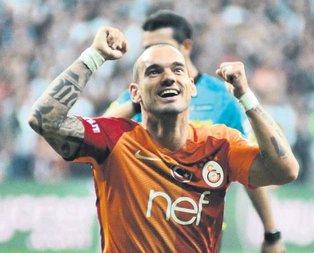 Tartışmasız Sneijder