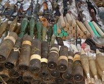 PKK cephaneliğinde dikkat çeken silah