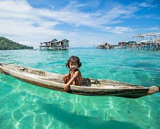 Yürümeden yüzmeyi öğrenen o ilginç kabile: Bajau!