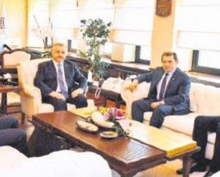 Başkan Dursun Özbek Arslan'ı ziyaret etti