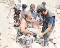 Esad vuruyor masumlar ölüyor