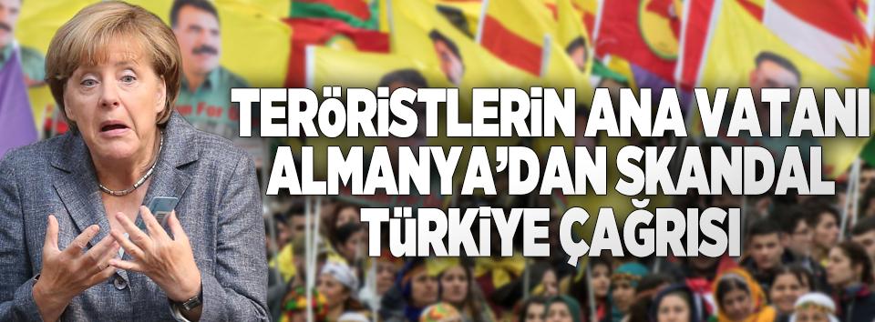 Korkudan tutuşan Almanyadan skandal Türkiye çağrısı