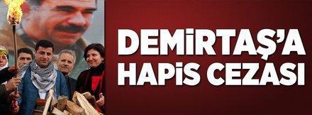 Selahattin Demirtaş'a hapis cezası!