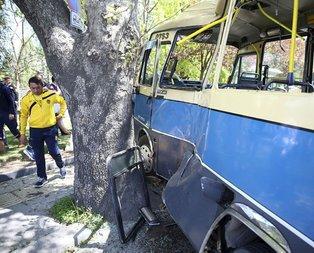 Başkentte feci kaza: Yaralılar var