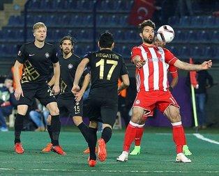 Osmanlıspor, Avrupa Ligine veda etti!
