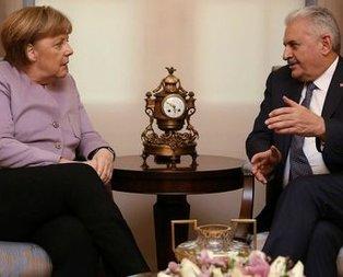 Yıldırım-Merkel görüşmesinden kritik karar