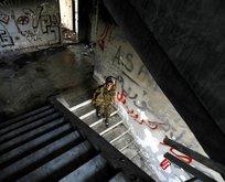 YPGnin güvenlik noktası yerle bir edildi
