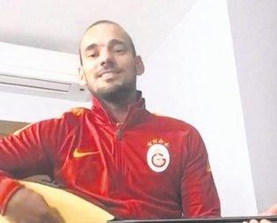 Bağlama ustası Sneijder