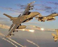 Türk jetleri Irakta PKKya bomba yağdırdı