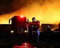 Ankara'da büyük yangın