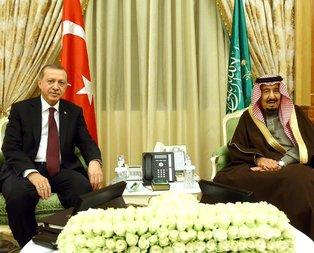 Erdoğan'dan Kral Selman'a teşekkür mesajı