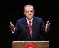 Erdoğan'dan şampiyona tebrik