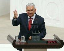 Başbakan Yıldırım Mecliste Kılıçdaroğluna cevap verdi