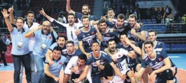 Fenerbahçe'yi eleyen Arkas, finale yükseldi