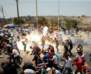 İsrail terörüne küresel öfke