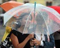 Megakent için yağmur uyarısı