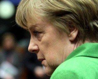 Schulz ve Merkel birbirine girdi