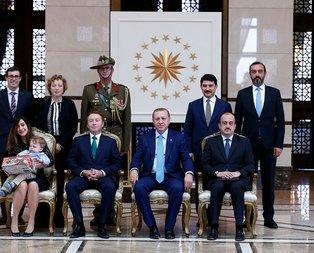 Erdoğandan Büyükelçinin oğluna sürpriz hediye