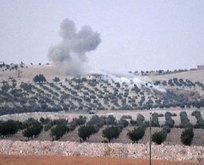 Tanklar ve iş makineleri Suriyeye girdi