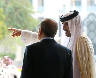 Cumhurbaşkanı Erdoğan Katar basınına konuştu