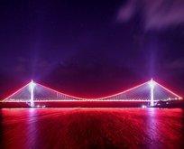 3. Köprüden muhteşem görüntüler
