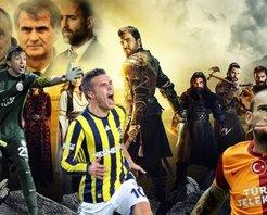 Süper Lig futbolcuları Diriliş Ertuğrulda oynasaydı...
