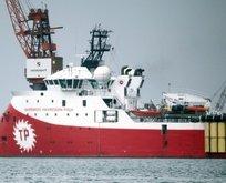 Barbaros Hayreddin Paşa gemisi çalışmalara başladı