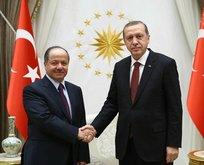 Erdoğan pazar günü Barzanyi kabul edecek