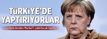 Gurbetçinin aracı Türk ustaya emanet