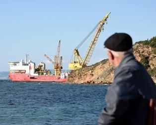 TANAPın Avrupa yolculuğu Marmara Denizinde başladı