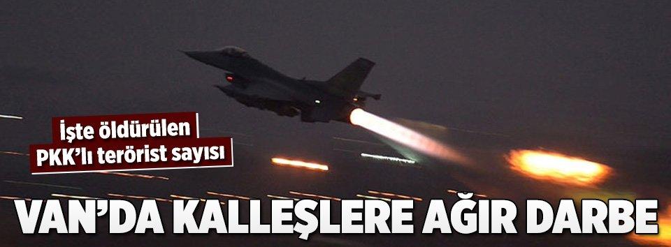 Hava operasyonunda 10 PKKlı öldürüldü