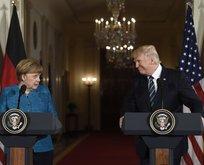 Trump'tan Merkel'e Türkiye resti