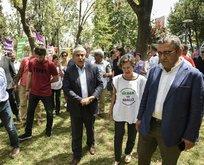 CHP çiçekleri kapıp HDP'ye koştu