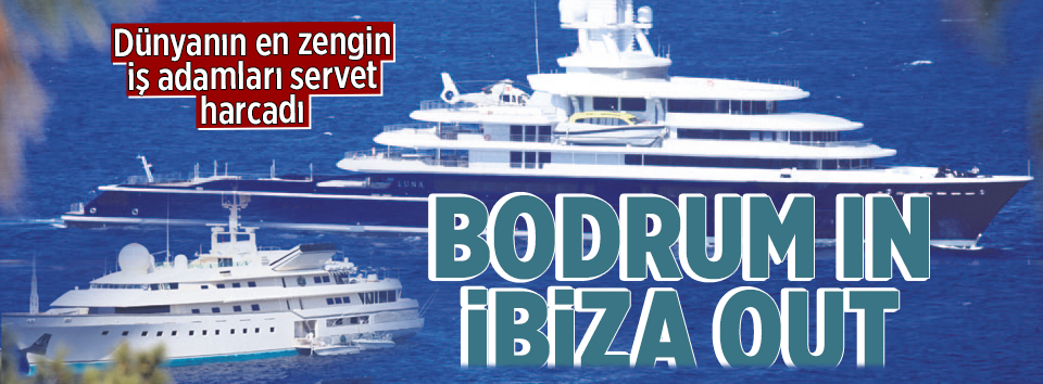 Bodrum in İbiza out