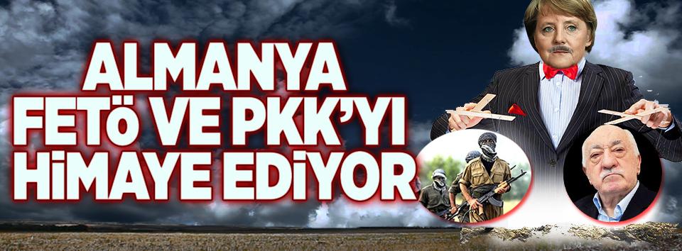 Almanya FETÖ ve PKK'yı himaye ediyor