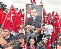 Almanya'da PKK'ya izin var Erdoğan'a yok