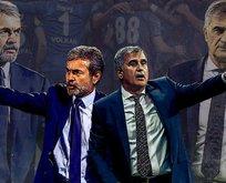 Fenerbahçe-Beşiktaş maçı öncesi 11ler