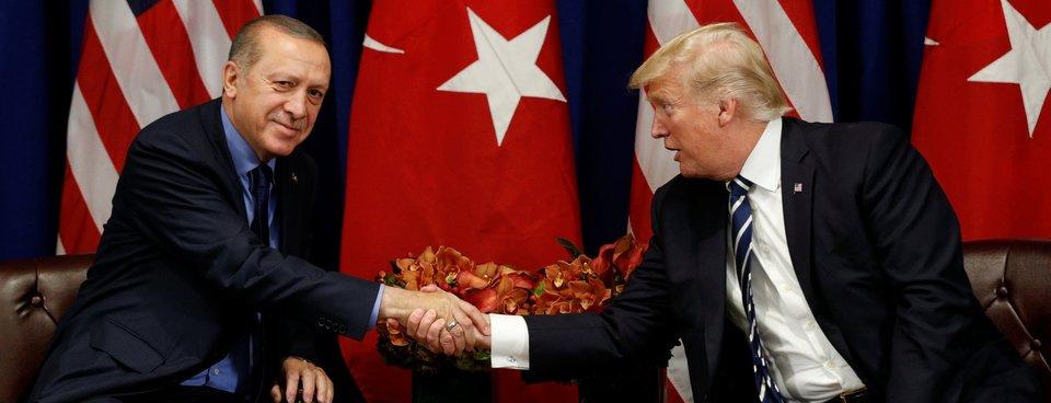 Cumhurbaşkanı Erdoğan New Yorkta Trump ile görüştü