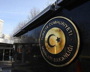 Dışişlerinden Ermenistana kınama