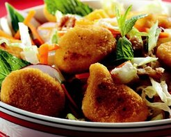 Nugget'lı Salata Tarifi
