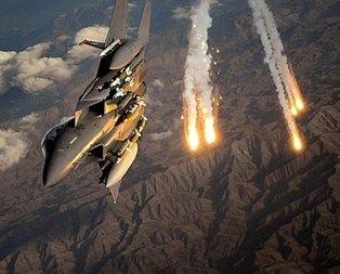 TSK, Kuzey Iraktaki PKK kamplarına bomba yağdırdı