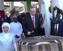Erdoğanı Tanzanyada böyle karşıladılar