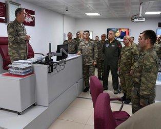 Org. Akar ve kuvvet komutanları sınır hattında