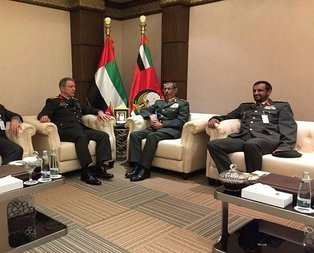Orgeneral Akar, Birleşik Arap Emirliklerinde