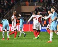 Manchester Cityye Monaco şoku!