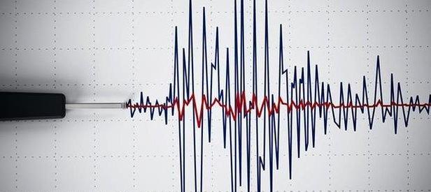 Uşak'ta korkutan deprem