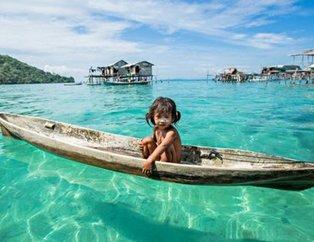 Dünyanın en şanslı kabilesi: Bajau